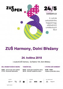 ZUŠ OPEN 2018 plakát